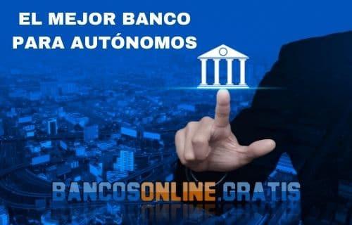 mejor banco para autonomos