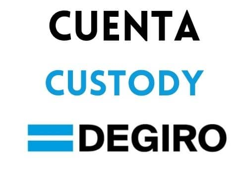 cuenta custody